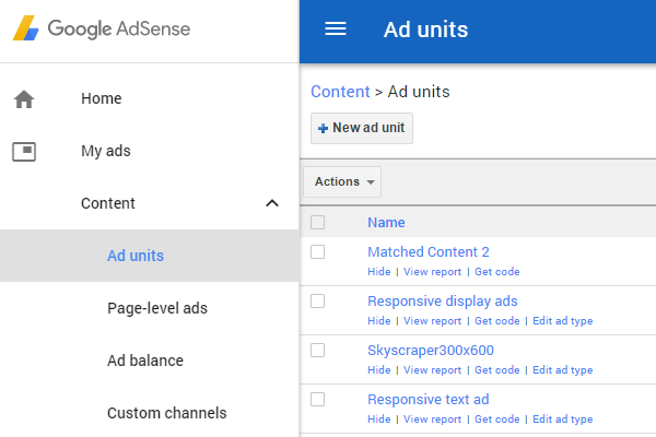 Google AdSense can be used to display adverts on your website or blog