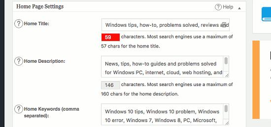 All-in-One SEO plugin for WordPress
