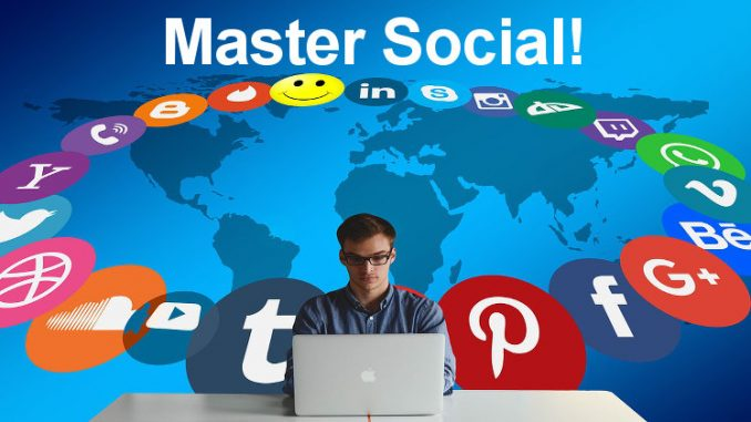 Master social media with these top tips and increase visitors to your website or blog