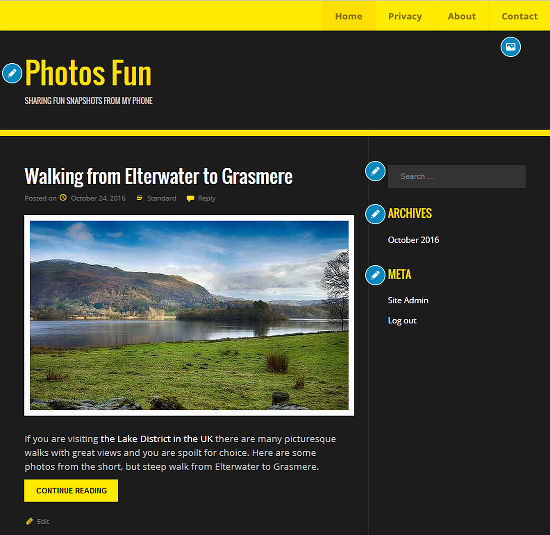 Try a new WordPress theme and see how your website would look