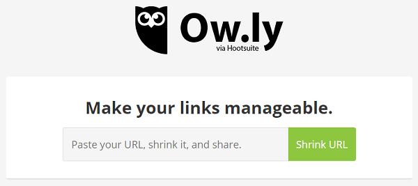 Ow.ly URL shortener