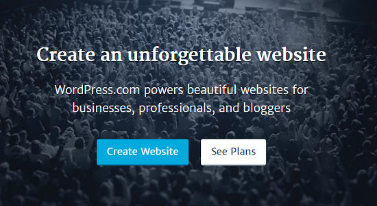 WordPress offers free website hosting for everyone