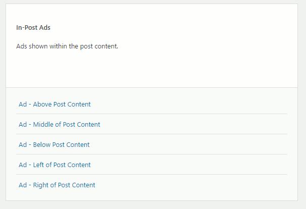 WP-Insert ad plugin for WordPress