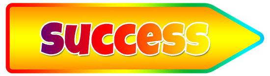 Success arrow