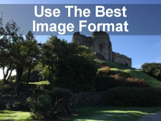 How to choose the best file format for images on your website so they look great, but are optimised for speed.