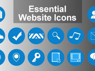 Add the essential icons to your website that web browsers look for. Your site will look better in bookmarks and shortcuts.