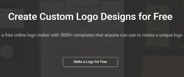 Create a logo at the DesignEvo website