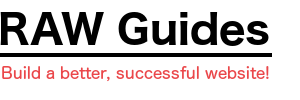 RAW Guides logo