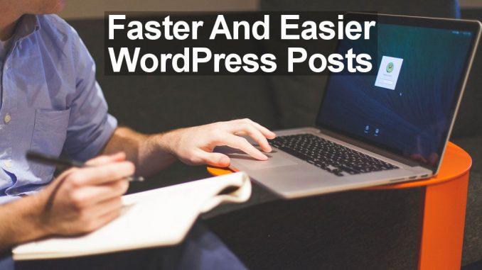 Markdown can save you time and effort when creating blog posts in WordPress.