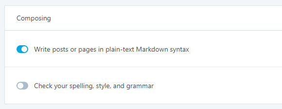 Enable Markdown in the Jetpack plugin