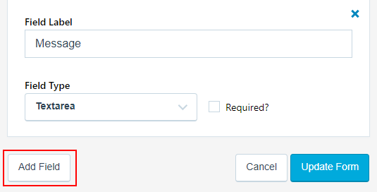 Add a field to a Jetpack contact form