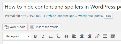 Shortcodes Ultimate in WordPress