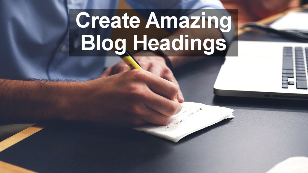 Create headings for your blog post or article using these online tools. They generate headlines and content ideas.
