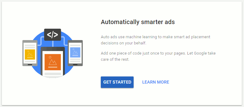 Get started with Google AdSense Auto ads