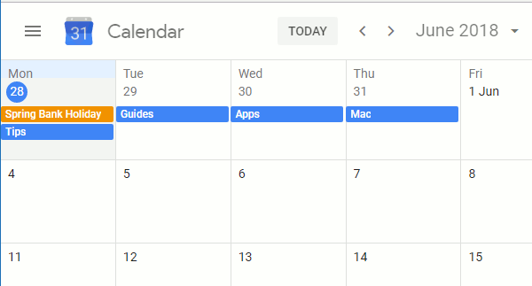 Organise your schedule with Google Calendar