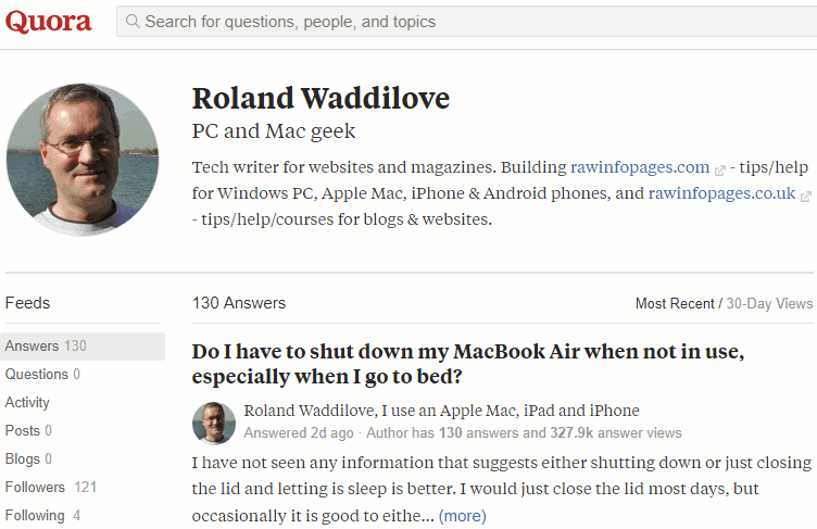 Answer people's questions at Quora and you might get some traffic to your site