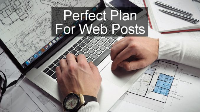 Recipe for the perfect post for your blog or website to attract and keep visitors