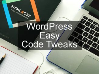 Easy code tweaks to extend WordPress by adding new functions