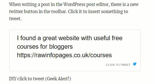 Better Click To Tweet WordPress plugin