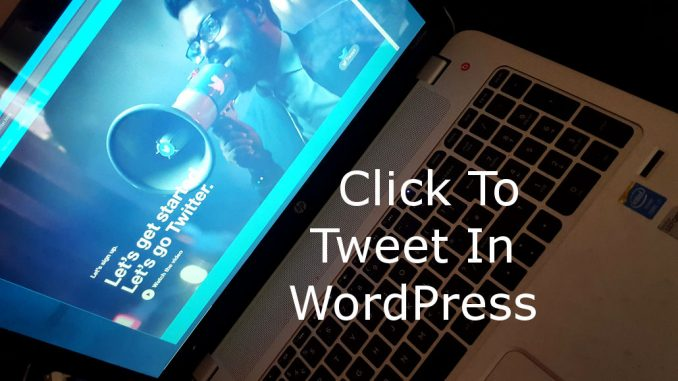 Provide ready-made tweets on your blog posts and website articles to enable readers to quickly tweet comments