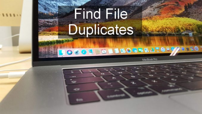 Duplicate File Finder Remover on test for the Apple Mac. Find and delete multiple duplicates of files