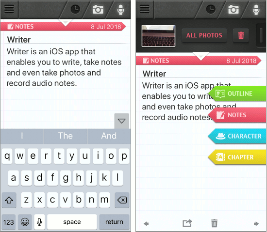 Writer app for the iPhone could be used to write your next novel
