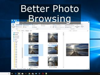 How to use the Preview pane in Windows Explorer to preview files and use QuickLook to view files