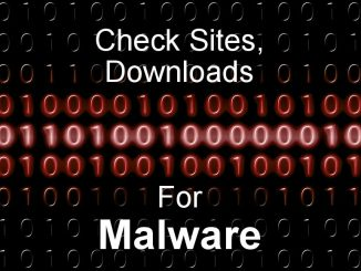 Use a Chrome extension to check websites and downloads for malware and make sure they are clean