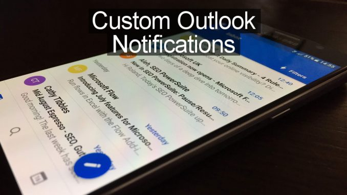 How to hide Outlook email app notifications on your phone when you are busy and catch up later