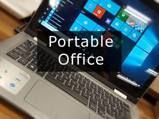 A portable version of Microsoft Office does not exist but you still have options if you need portable office apps