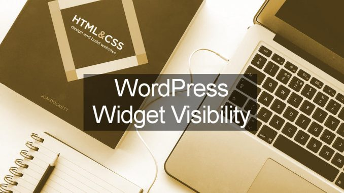 How to hide a WordPress sidebar widget for some users, logged in or out users, on mobile and so on