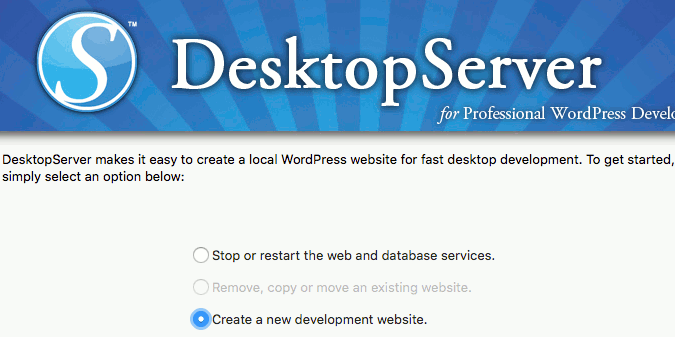 Running DesktopServer app on the Apple Mac