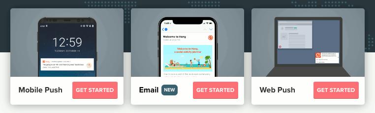 OneSignal website