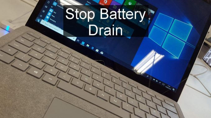 Use new Windows 10 Task Manager and Settings features to monitor and control battery usage by apps