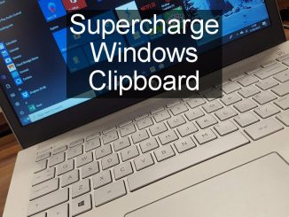 How to use the new multi-item clipboard and history in the latest version of Windows 10