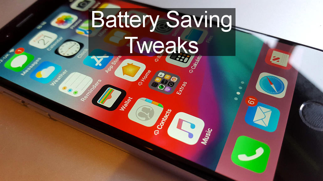 is ios 12 draining the battery too fast on your iphone fix it rawinfopages. Black Bedroom Furniture Sets. Home Design Ideas