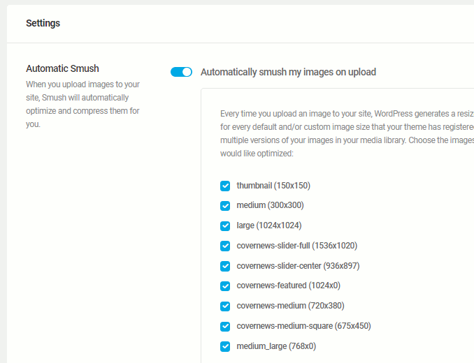 Smush WordPress plugin optimizes images on websites