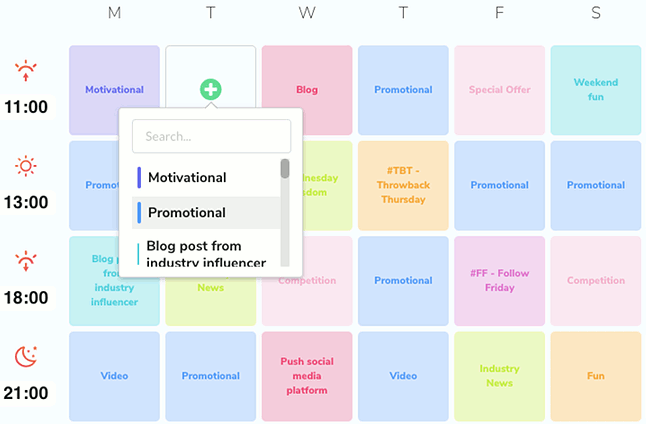 Proofer automatically creates a strategy for social shares