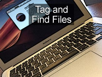 Tag files on the Apple Mac's disk to make them easier to find