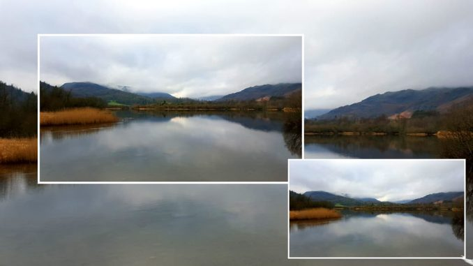 Photos of Elterwater, a lake in the Lake District in the UK
