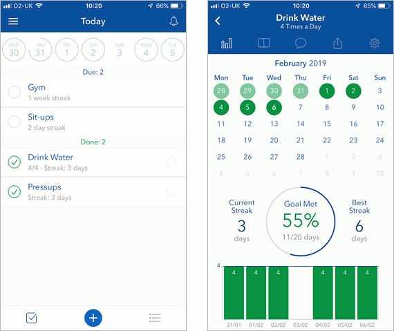 Strides iOS app to help you form good habits and stick to them