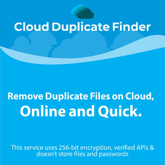 Cloud Duplicate Finder service
