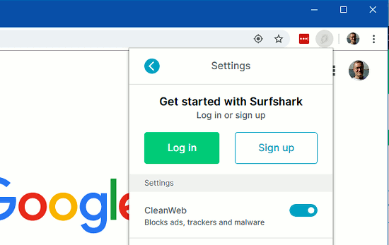 Surfshark cleanweb blocks ads, trackers and malware