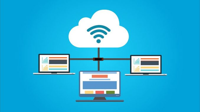 Cloud storage. Store your files online and access them from any device