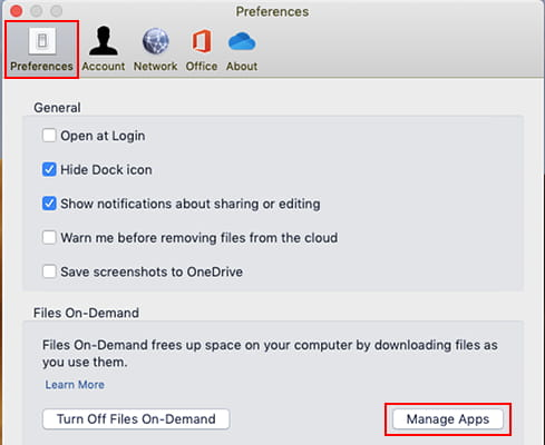 Manage apps that can access OneDrive Files on Demand