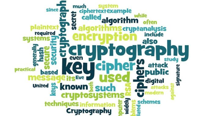 Cryptography and encryption is the best way to secure your digital information and maintain security and privacy