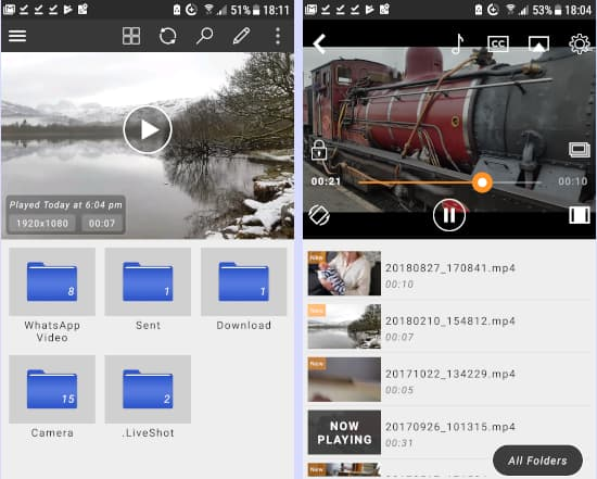 Browse and watch videos on Android phones with CnX Player