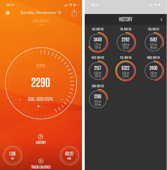 Pedometer - Track My Steps app for the iPhone