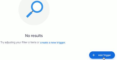 Google Sheets script trigger