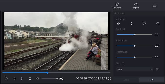 Edit a video and fix problems with MiniTool MovieMaker